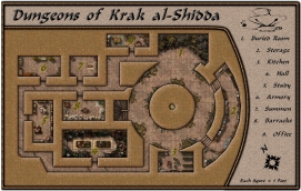 Dungeons of Krak al-Shidda