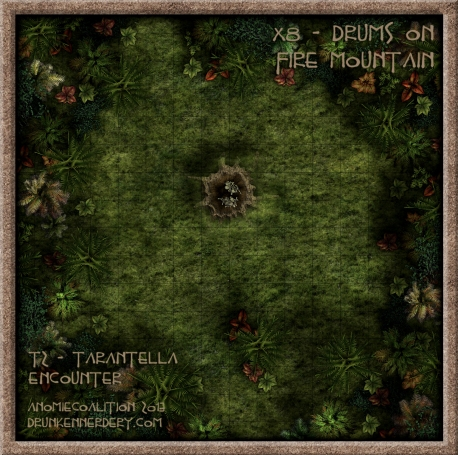 Map T2 - Tarantella Encounter