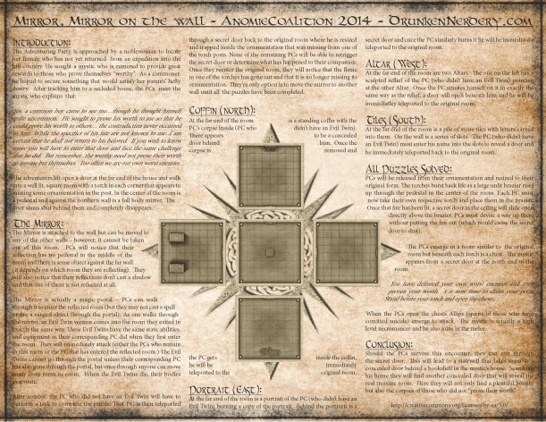 AnomieCoalition - 1 Page Dungeon