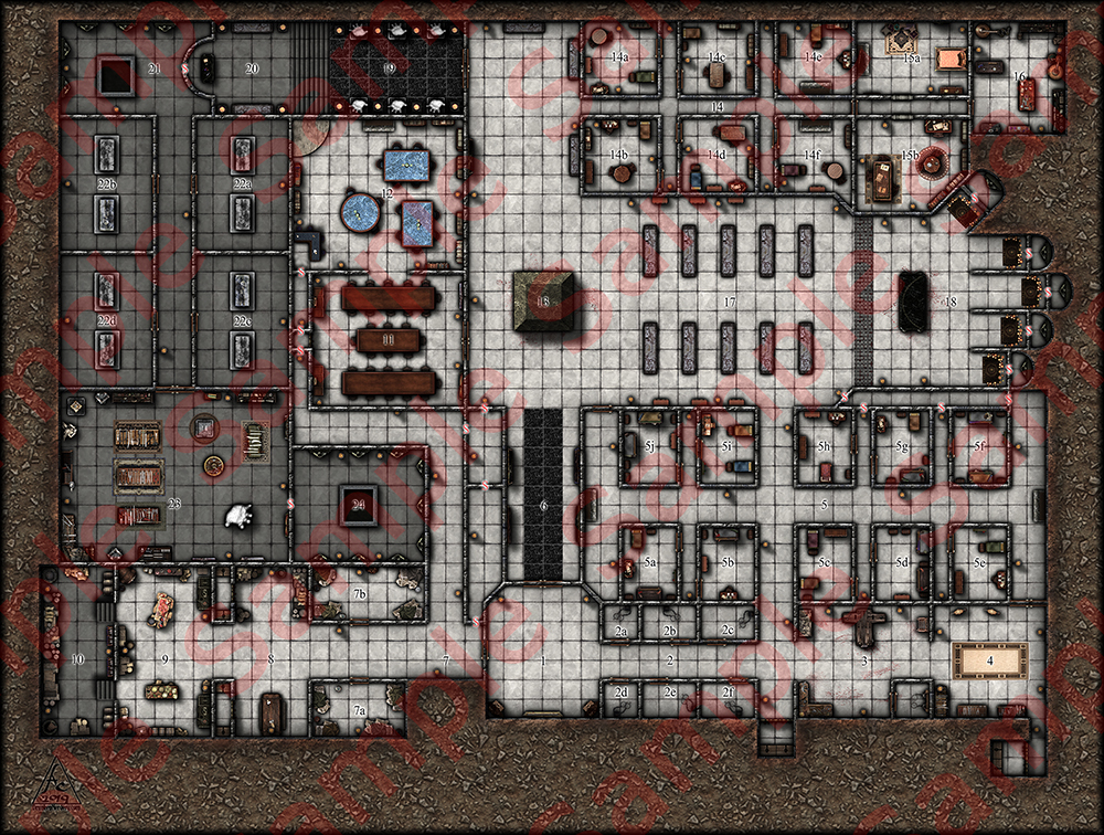 Crypt of the Black Hand - GM MAP - SAMPLE.jpg